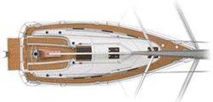 Deck BAVARIA 32